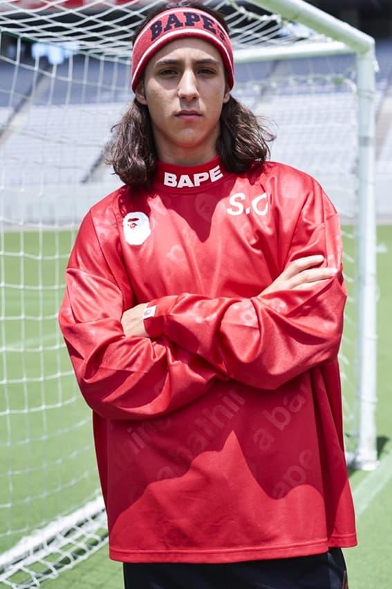 A BATHING APE® BAPE ベイプ エイプ サッカー フットボール ルックブック lookbook HYPEBEAST ハイプビースト