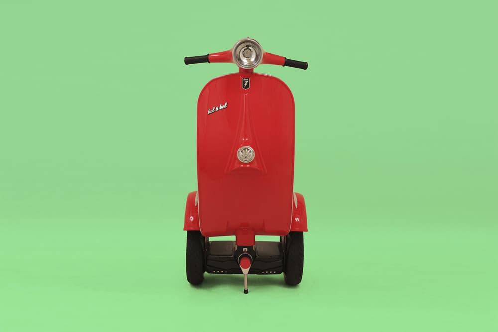 """スマホ操作を可能とした Vespa 顔のセグウェイ """"Z-Scooter"""" が登場 過去と未来を繋ぐポピュラーなデザインと機能性を兼ね備えた1台が誕生 バルセロナ Bel & Bel Studio ベルベルスタジオ Vespa ヴェスパ 自立型電動セグウェイ Z-Scooter Corradino D'Ascanio コラディーノ・ダスカニオ 時速20km 3~4時間 充電 25km Bluetooth スマートフォン 5,950ユーロ 約782,000円 HYPEBEAST ハイプビースト"""