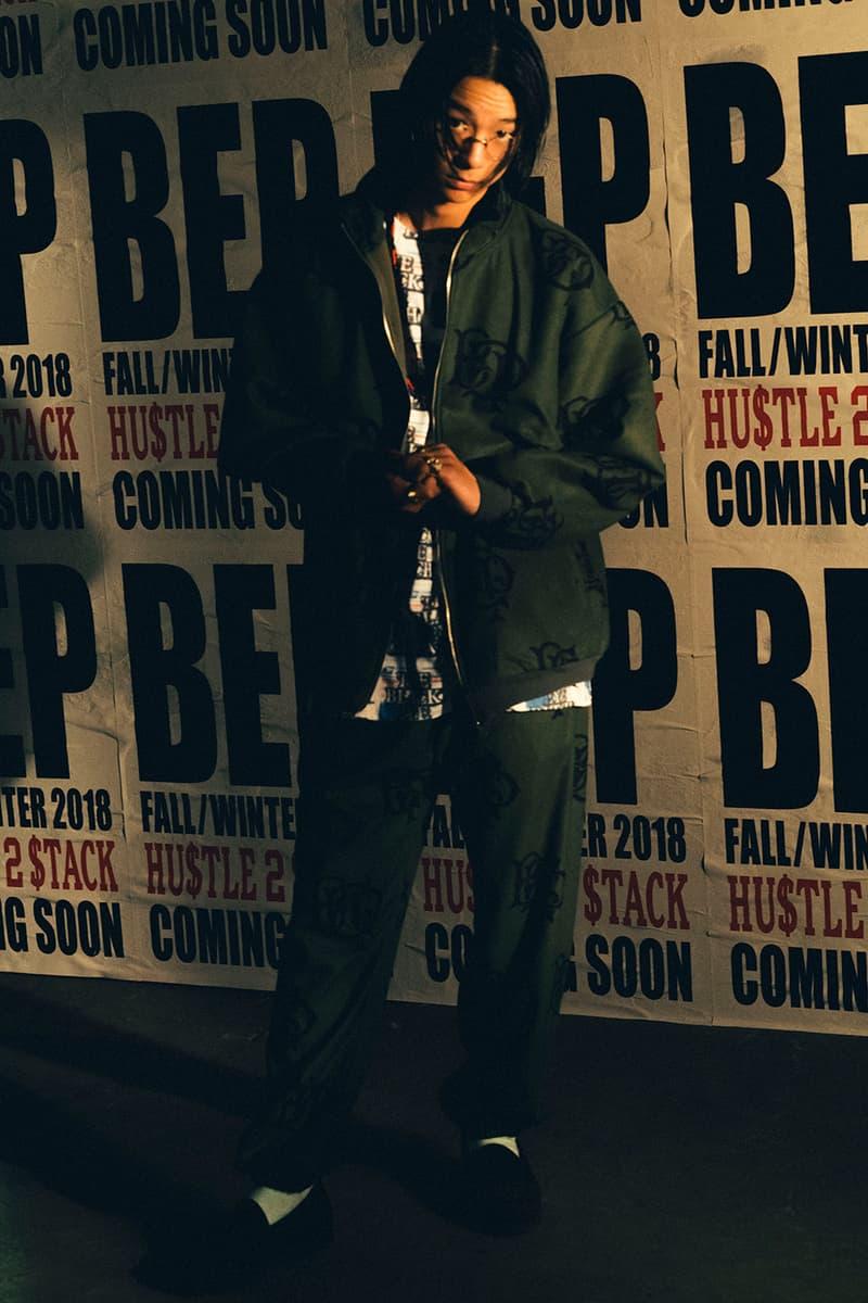 不良感を全面に押し出した BlackEyePatch 2018年秋冬ルックブック '00年代のヒップホップカルチャーに敬意を表し、〈BEP〉流のオーバーサイズスタイルを提案