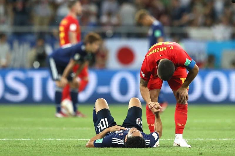 惜しくもベスト8進出を逃した日本代表の健闘を世界中のサッカー博識人たちが讃える 鋭いカウンターから原口元気の右足一閃、そして乾貴士のワールドクラスのミドルシュート。誰もが勝利を確信しかけたことだろう。しかし、世界の壁は想像を遥かに上回るほど分厚いものだった。不運な失点を含め、悔やんでも悔やみきれないところも多い。だが、ぶっつけ本番のような状況の中、選手からスタッフまでチームが全体が文字通り一丸となり、やれることを全て出し切った結果には、我々日本人のみならず、世界中が心打たれたはずだ。  対戦相手のベルギー代表監督は『BBC』を介して、「日本を祝福しないといけないね。彼らは完璧な試合運びをしたよ。とてもソリッドだったね」とSAMURAI BLUEを称賛。また、試合後にはマン・オブ・ザ・マッチに選出されたEden Hazard(エデン・アザール)も「今日は決して簡単な試合ではありませんでした。素晴らしいチームですね。どんな相手でも苦しめることができるパフォーマンスだったと思います」とコメントを残している。  そんな日本代表を労うのは、対戦相手や各国メディアだけではない。Alessandro Del Piero(アレッサンドロ・デル・ピエロ)、Patrick Kluivert(パトリック・クライファート)、Gary Lineker(ギャリー・リネカー)、Sol Campbell(ソル・キャンベル)ら往年の名手たちもSNSを通して日の丸を背負う選手たちの健闘を讃えているほか、ワールドカップを主催する「FIFA」までもが日本代表に対して労いの言葉を贈っている。  日本代表、おめでとう。歴史を塗り替えるまで、あと一歩だったね。  何て目紛しい試合だ。日本の前半の戦いぶりは本当に素晴らしかった。  (面白い一戦だった。ベルギー対日本の試合中、VARに触れられることはほぼなかった。ダイブ、演技もない。フットボールはこうあるべきで、両チームが勝利を目指し、守りに入ることはなかった。素晴らしい試合ですね。という記者のTweetを引用して)完全に同意見だよ。サッカーはこうあるべきだ。スポーツの評価を高めるね。  ベルギー対日本の試合は言葉では表せないほどハラハラしたね!  日本代表のみなさん、最高のワールドカップへの多大な貢献、そして2018年のロシアであなたたちで見せてくれたすべてのことに感謝します。  この悔しさを糧にして、2020年のカタール大会では今以上に世界基準へ近づいた日本代表の姿が見れることだろう。  『HYPEBEAST』がお届けするW杯関連のニュースは、こちらから。