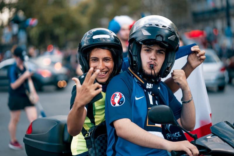 HYPEBEAST フランス 部隊が切り撮った ワールドカップ W杯 優勝 パリ フォト 写真 ハイプビースト