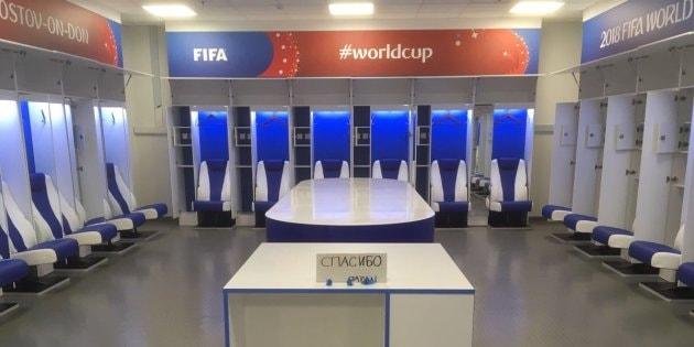 ベルギー戦後に日本代表がロッカールームに残した感動的なメッセージとは? 激戦を繰り広げたサムライブルーのW杯去り姿に「FIFA」が絶賛 2018 FIFAワールドカップ ロシ ベルギー ナイジェリア戦 ロッカールーム サムライブルー FIFA Priscilla Janssens プリシラ・ヤンセンス スパシーバ ありがとう おじさんジャパン HYPEBEAST ハイプビースト