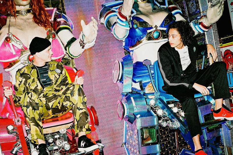 """東京のカウンターカルチャーに敬意を表した HUF 2018年秋コレクション """"The Last Resort"""" """"旅で大切なのは目的地ではなく、その行程そのものが重要である"""" Keith Hufnagel キース・ハフナゲル HUF ハフ 2018年秋コレクション The Last Resort ロボットレストラン ファミリーマート ストリートファイター HYPEBEAST ハイプビースト"""
