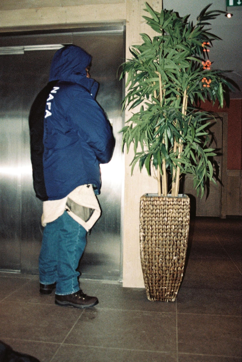 Martine Rose Napa Fall/Winter 2018 Lookbook Lookbooks Clothing Clothes Fashion Available Cop Buy Coming Soon Release Details Coat Jacket Outerwear Denim Jeans T-Shirt
