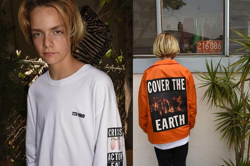 NEIGHBORHOOD x Cali Thornhill DeWitt によるメッセージ性の強いコラボコレクションが登場 ネイバーフッド カリ・ソーンヒル・デウィット ハイプビースト HYPEBEAST