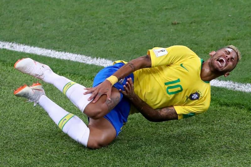 Neymar ネイマール ブラジル代表 ダイブ