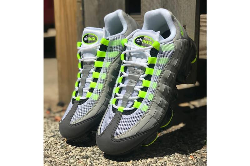 """爆発的ヒットが予想される Nike Air VaporMax 95 """"Neon"""" の海外リリース情報が判明 突如姿を現した最新ハイブリッドモデルのディテールルックも公開中 Sean Wotherspoon ショーン・ワザーズプーン Nike ナイキ Neon Air VaporMax 95 8月16日 190ドル 約21,036円 HYPEBEAST ハイプビースト"""