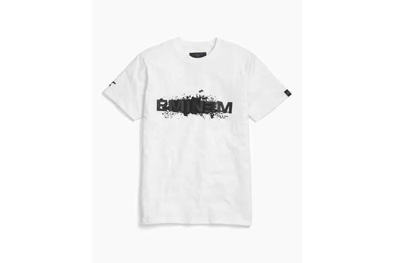 ラグ&ボーン エミネム コラボ Tシャツ ホワイト