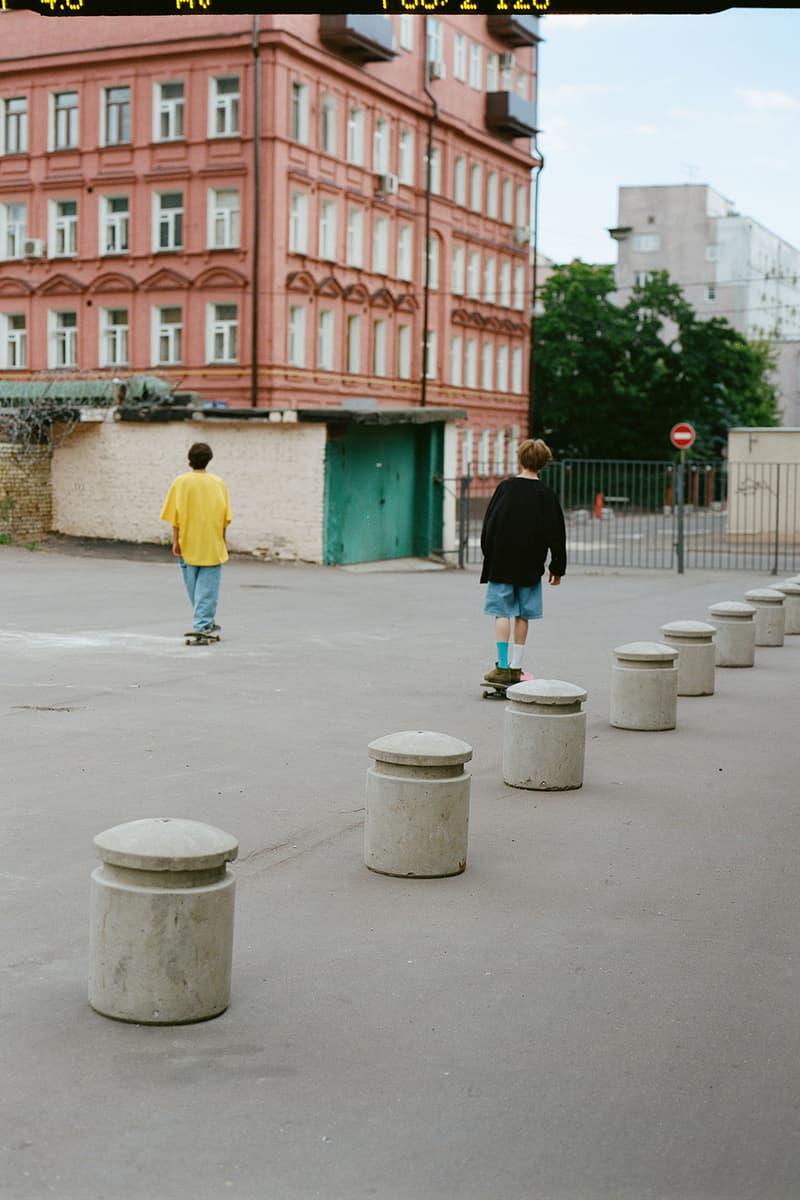 PACCBET Rassvet Winter 2018 Collection Gosha Rubchinskiy Moscow Skate Store Release Date For Sale Availbility ゴーシャ ラブチンスキー HYPEBEAST ハイプビースト ラスベート ルックブック