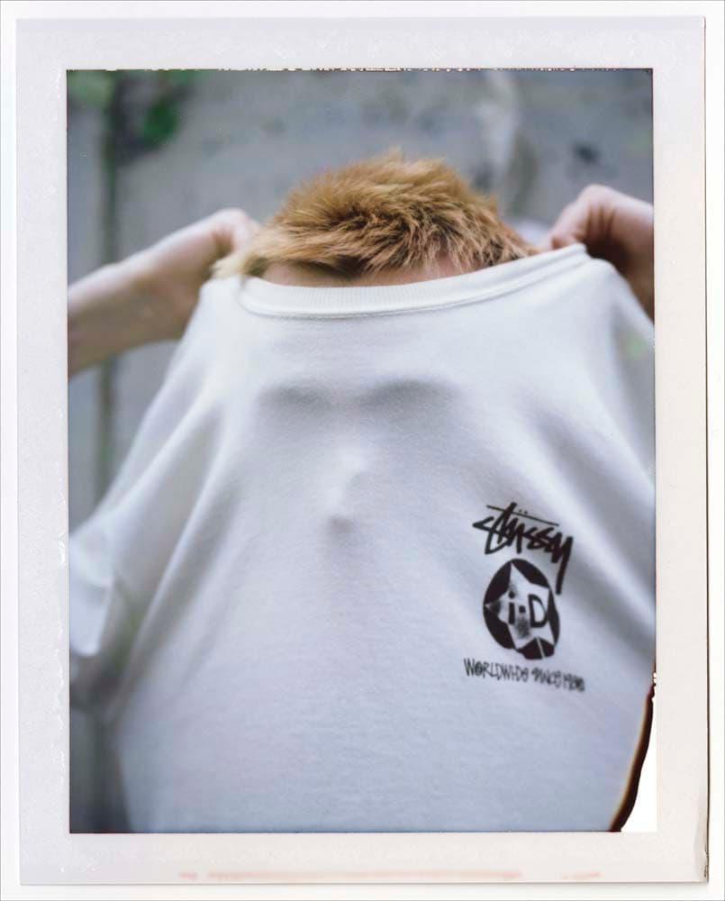 ステューシー i-D コラボ Tシャツ ホワイト