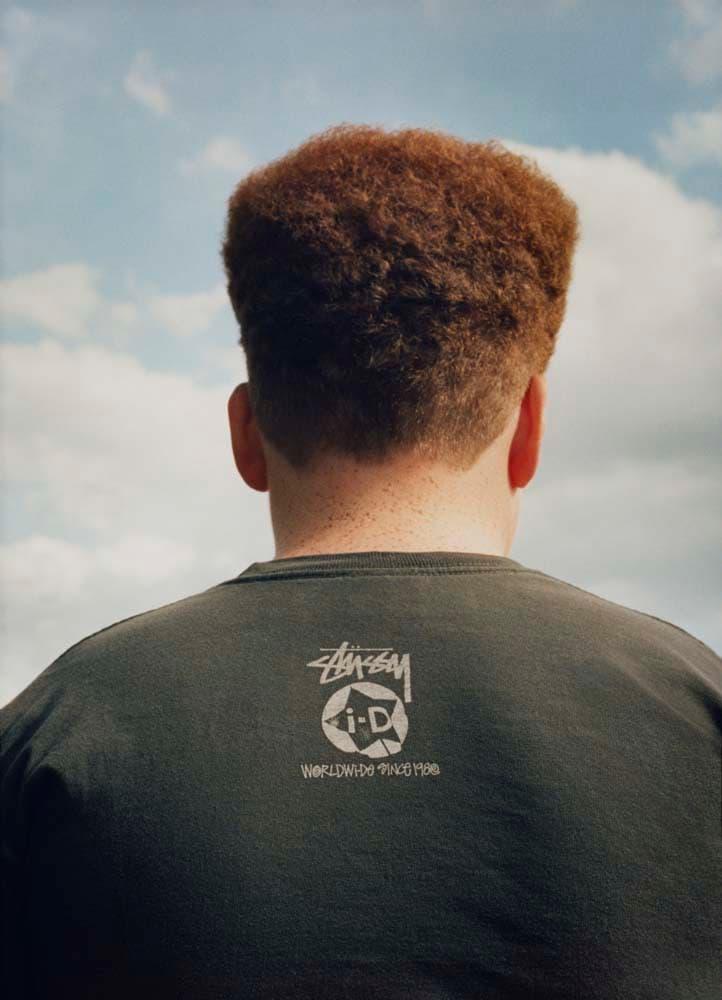 ステューシー i-D コラボ Tシャツ ブラック