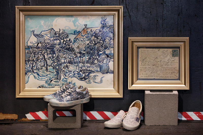 後期印象派の巨匠ゴッホ x Vans によるコラボカプセルの公式リリース情報&ルックブックが到着 近代美術の父が遺した名画と定番ストリートアイテムを融合させた指名買い必至の逸品が遂にベールを脱ぐ Pablo Picasso パブロ・ピカソ Johannes Vermeer ヨハネス・フェルメール Vincent Van Gogh フィンセント・ファン・ゴッホ Vans ヴァンズ 花咲くアーモンドの木の枝 ぶどう畑と農婦 ひまわり Skull in Profile Sk8-Hi Authentic 8月3日 オンラインサイト ウェブストア HYPEBEAST ハイプビースト