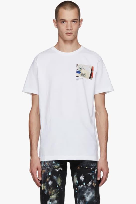 ヴァージル・アブロー 公式グッズ SSENSE エキシビション モントリオール Tシャツ