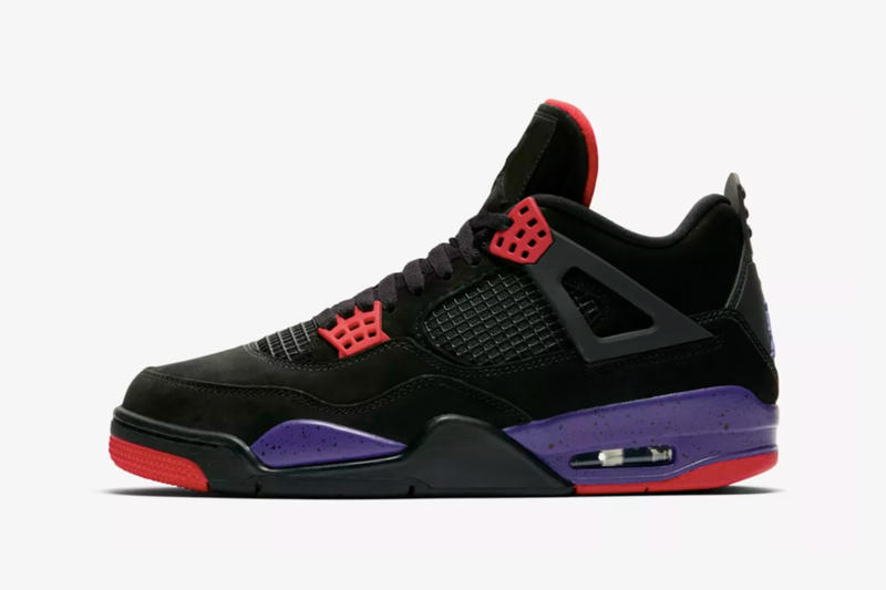 "Air Jordan 4 ""Black/Court Purple"" 日本リリース情報が遂に解禁 ナイキ Nike エアジョーダン 4 パープル HYPEBEAST ハイプビースト"