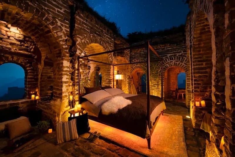 幻となった2000年以上の歴史を誇る中国・万里の長城の宿泊施設をチェック 発表からわずか数日で史上初となる夢の企画が白紙に…… Airbnb エアビーアンドビー 万里の長城 HYPEBEAST ハイプビースト