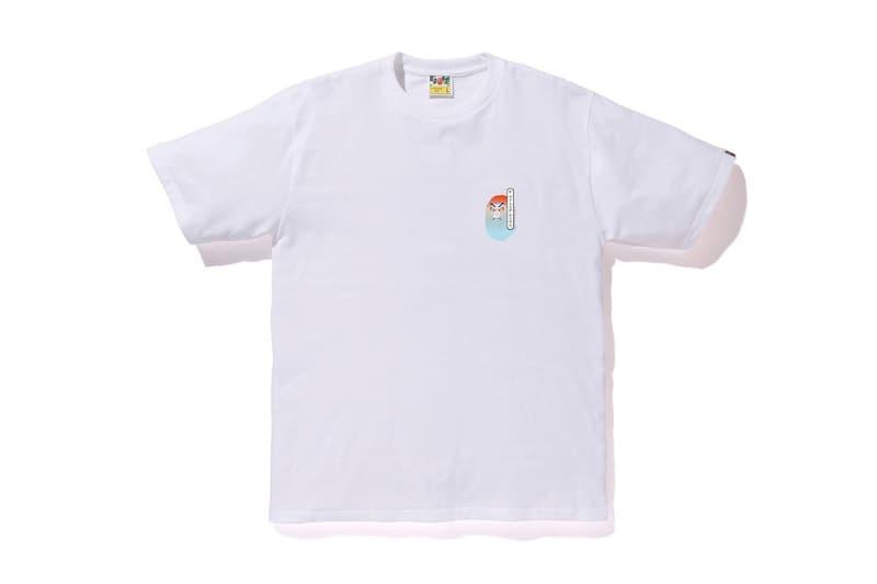 BAPE® から歌舞伎モチーフで和のテイストを注入した新作Tシャツが登場 見得を切るAPE HEADにカタカナを配したジャパネクスな一枚