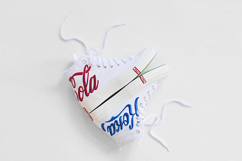 KITH x Coca Cola コラボ コレクション Converse Chuck Taylor にクローズアップ キス コカ コーラ HYPEBEAST ハイプビースト コンバース チャックテイラー