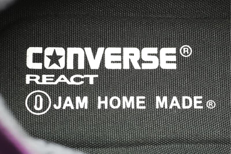 JAM HOME MADE x Converseよりクレイジーパターンを纏ったAll Star 100 Hiが登場 ジャムホームメイド コンバース オールスター HYPEBEAST ハイプビースト