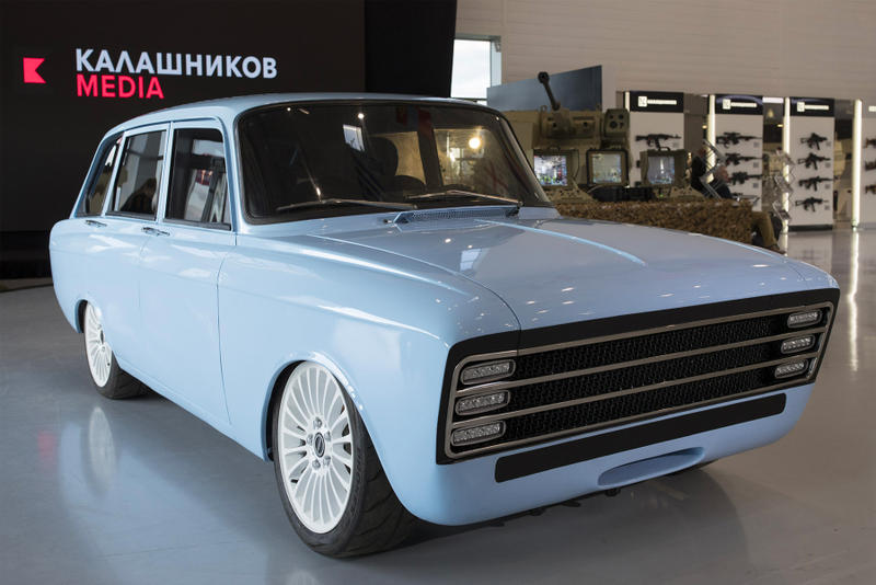 AK-47 露 ロシア ソ連 カラシニコフ社 電動 EV 自動車 スーパーカー Kalashnikov HYPEBEAST ハイプビースト