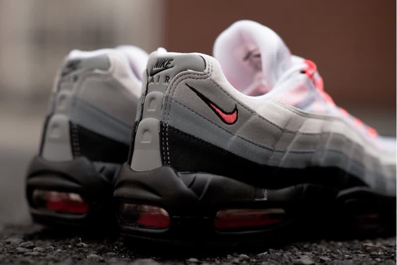 "Nike Air Max 95 ""Solar Red"" が国内 atmos 限定で再販売決定 ナイキ エアマックス アトモス HYPEBEAST レッド ハイプビースト"