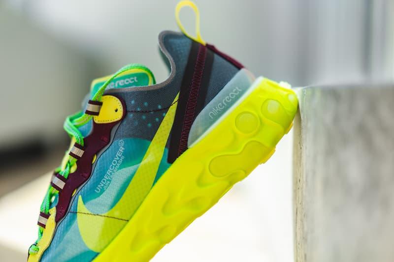 UNDERCOVER x Nike による新作コラボフットウェア React Element 87 計4モデルにクローズアップ ナイキ アンダーカバー HYPEBEAST ハイプビースト