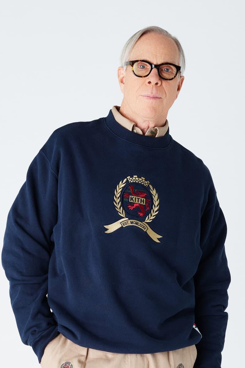 ロニー・ファイグが Tommy Hilfiger x KITH のコラボビジュアルを解禁 古き良き90年代のアメリカに回帰する注目のコレクションがまもなくリリース