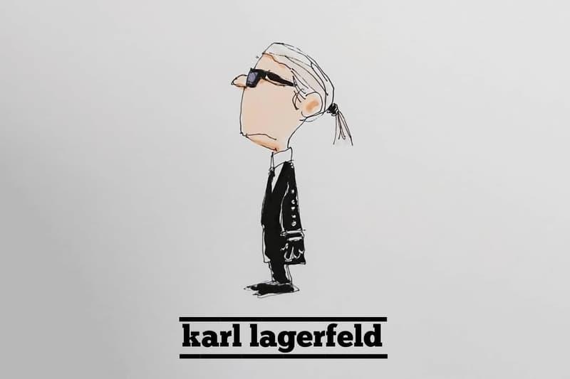藤原ヒロシやNIGO®️を『PEAN◯◯S』のキャラクターに見立てたsKetChboOok3のイラストシリーズ 海外デザイナーからはカール・ラガーフェルドやキム・ジョーンズらが脱力感のあるタッチで見覚えのあるキャラクターに変身