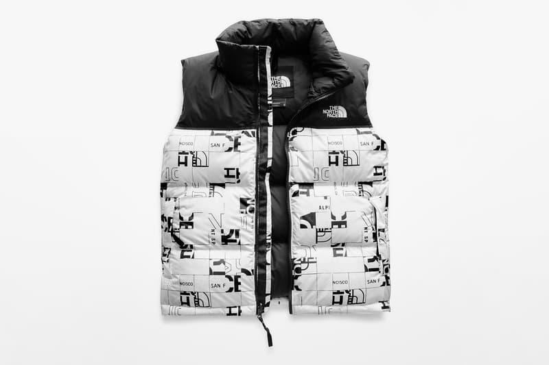 """The North Face がキャッチーなデザインに仕上げた """"Broken Grid"""" カプセルコレクションを発表"""