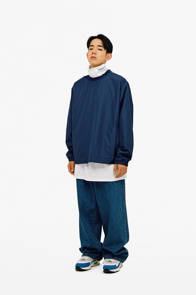 韓国ストリート屈指の人気ブランド thisisneverthat より2018年秋冬ルックブックが到着 GORE-TEXなどの機能素材を使用したストリートウェアとともに〈Nike〉とのコラボスニーカーも登場