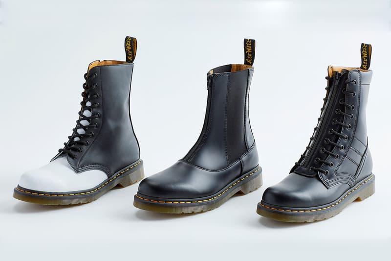 Yohji Yamamoto x Dr. Martens による往年の名作ブーツが復刻版として再登場 ヨウジ ヤマモト ドクターマーチン HYPEBEAST ハイプビースト