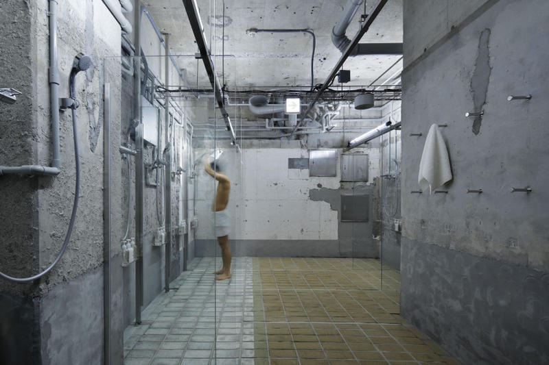 schemata architects  ℃ Architecture hotel capsule ebisu gotanda tokyo sauna HYPEBEAST