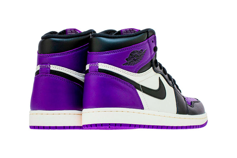Air Jordan 1 Retro High OG Court Purple Release Nike Sneaker HYPEBEAST