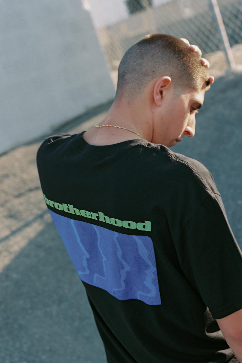 Brotherhood Fall Winter 2018 Lookbook collection T-shirts hoodies trousers crewneck pullovers HYPEBEAST
