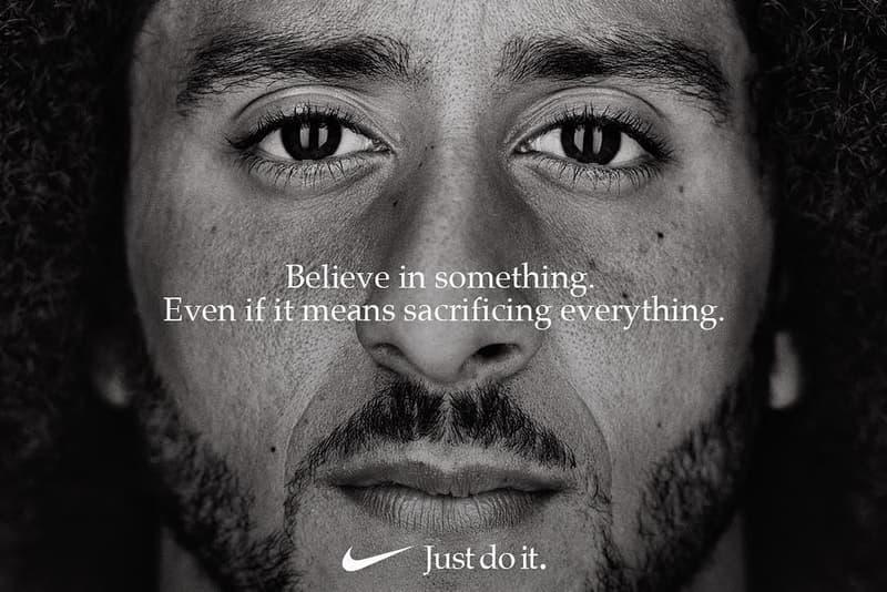 """Nike が """"Just Do It"""" 30周年のキャンペーン広告に渦中の NFL 選手 コリン・キャパニックを起用 ナイキ HYPEBEAST ハイプビースト"""