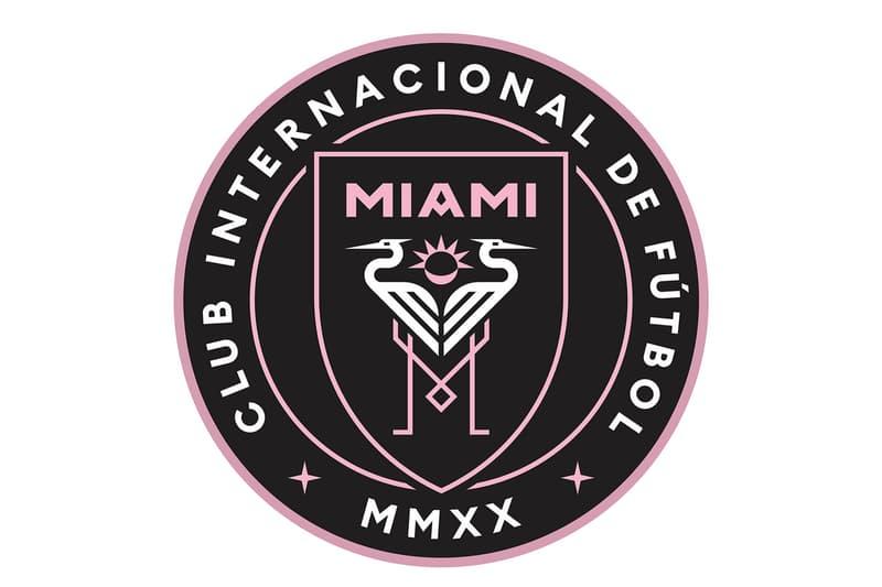 Miami David Beckham MLS Club Internacional de Fútbol Miami League Expansion Soccer Crest Football Crest Major League Soccer HYPEBEAST