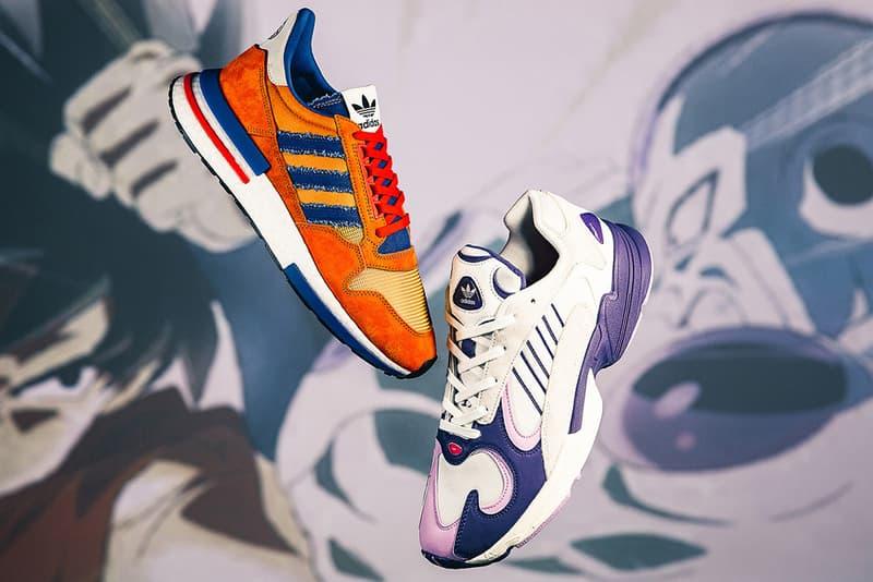 "Dragon Ball Z x adidas Most Limited Drop 2018 Sneakers Kicks Trainers Shoes Footwear Edition 1000 Pairs Style ZX 500 RM ""Goku"" Yung-1 ""Frieza"" Prophere ""Cell"" Deerupt ""Son Gohan"" Ultra Tech ""Vegeta"" Kamanda ""Majin Buu"" EQT Support ADV Primeknit ""Shenron"" HYPEBEAST Sneaker"
