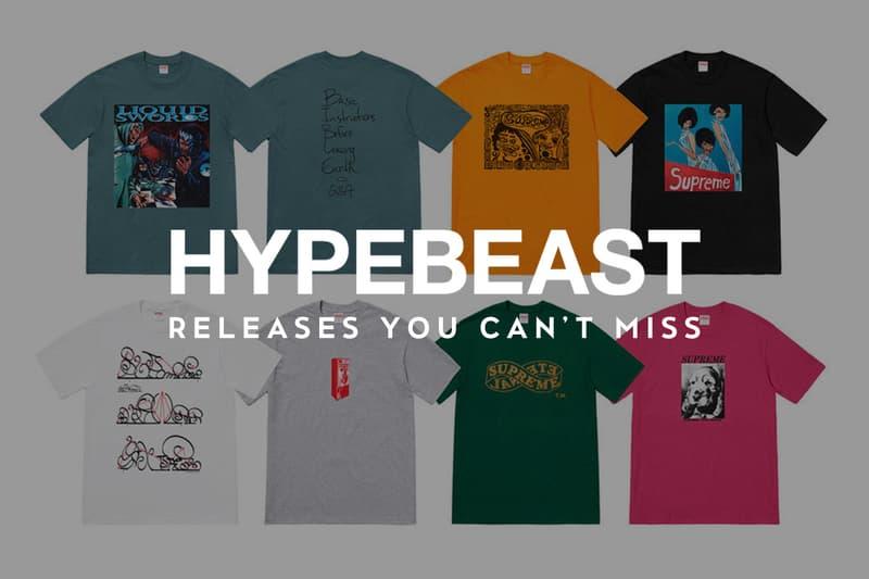 見逃したくない今週のリリースアイテム 6 選(2018 9/17~9/23)〈Supreme〉の2018年秋冬Tシャツコレクションや〈Nike〉x〈ACRONYM®〉による新作コラボAir Presto Midがいよいよローンチ HYPEBEAST ハイプビースト