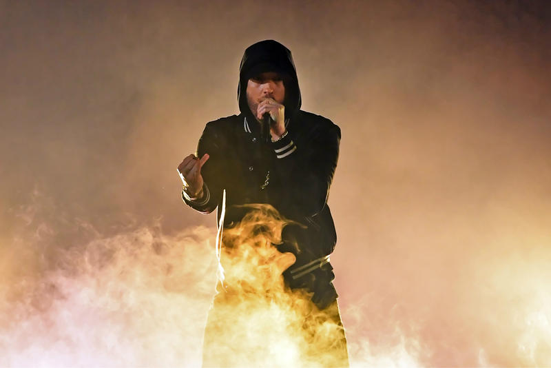 Eminem Kamikaze new album No. 1 Billboard 200 first-week sales HYEBEAST
