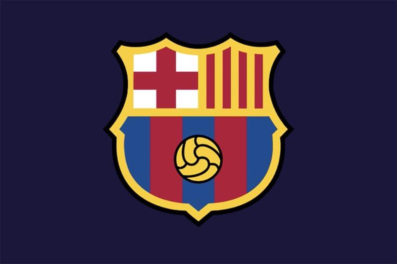 FC Barcelona Soccer Football New Crest Jersey Logo 2019 2020 La Liga HYPEBEAST