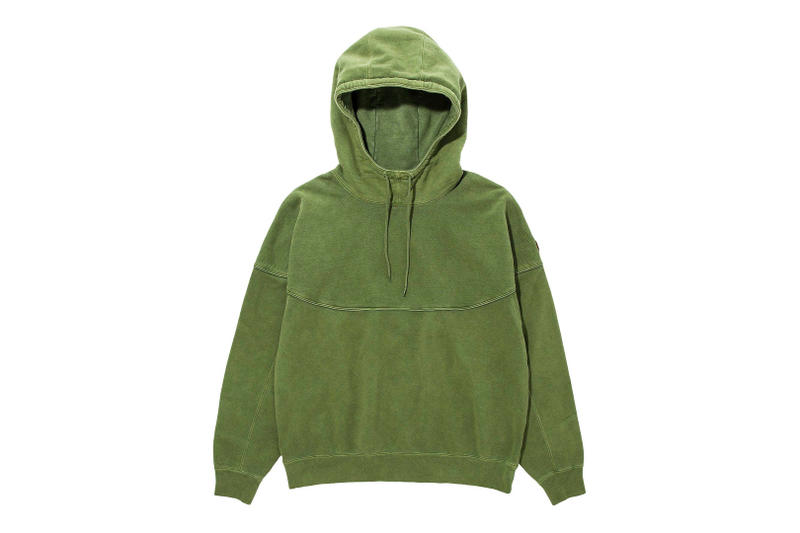 Cav Empt H BEAUTY & YOUTH united arrows Fall winter 2018 Collaboration collection exclusive september 15 2018 green hoodie wash sweater pullover sweatpants tee shirt big oversized white black graphic print sk8thng release buy purchase sale sell japan vogue fashion night out