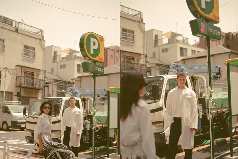 HBX 2018 Tokyo Equinox Editorial Stussy Prada MM6 Maison Margiela 1017 ALYX 9SM Ambush Loewe Alexander Wang Brain Dead Stone Island Calvin Klein Established 1978 Transitional Julia Abe Abiah Hostvedt