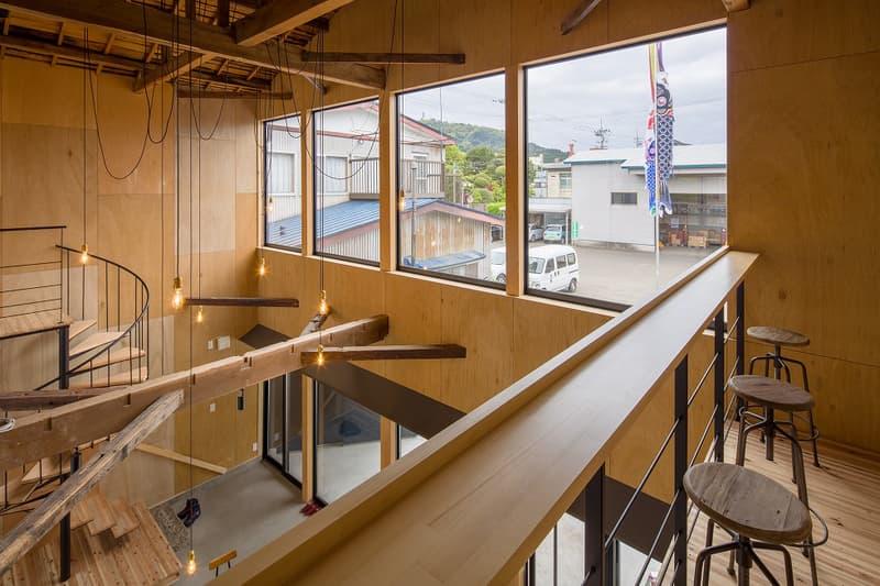 hikobe fukurokuju japanese sake nihon shu akita history local hub network architecture interior design HYPEBEAST