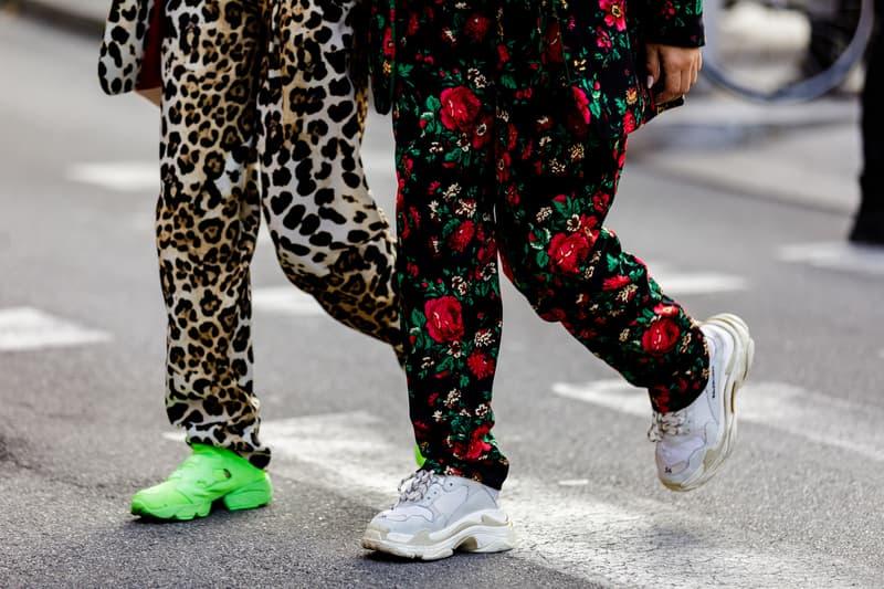 Milan Fashion Week Spring/Summer 2019 Street Style ss19 streetwear sneakers HYPEBEAST