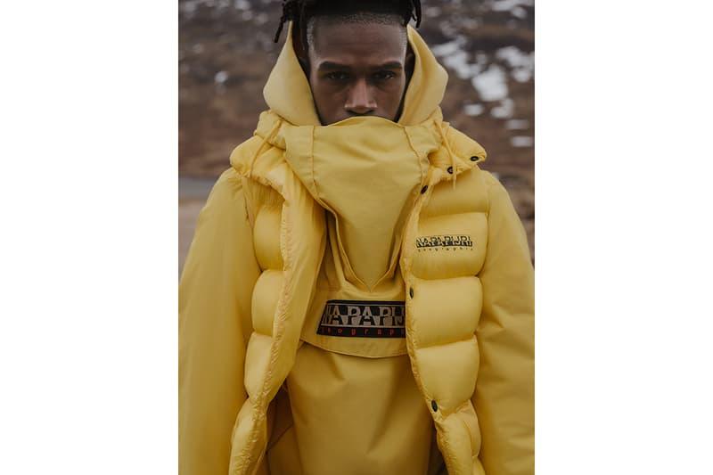 Napapijri Martine Rose A$AP Rocky Kendrick Lamar The Tribe TELVE SKIDOO TRIBE RAINFOREST PARKA BAODING BUENA BAODING Black Parple Yellow anorak outer wear HYPEBEAST