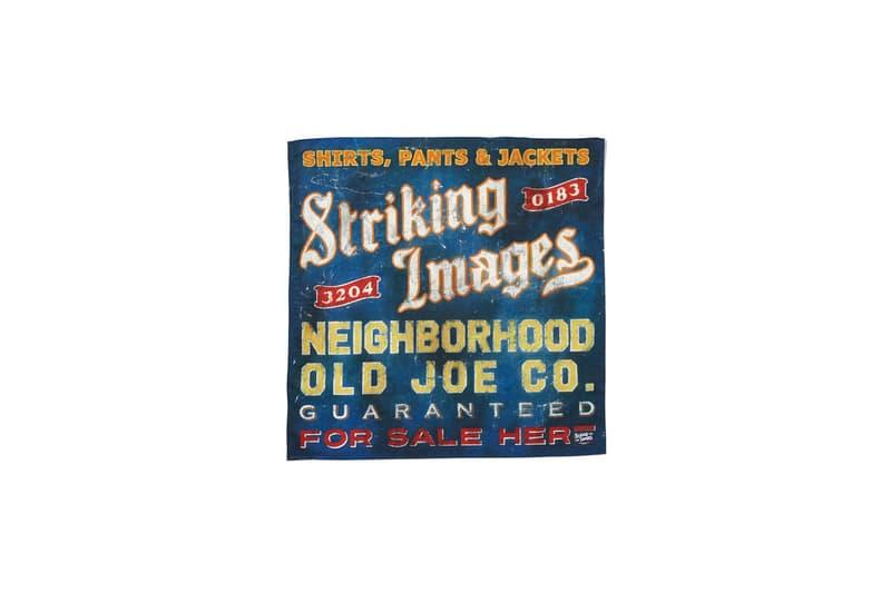 "NEIGHBORHOOD x OLD JOE がコラボ第2弾となる""STRIKING IMAGES""を発表 ネイバーフッド × オールド ジョー ハイプビースト ストリート hypebeast"