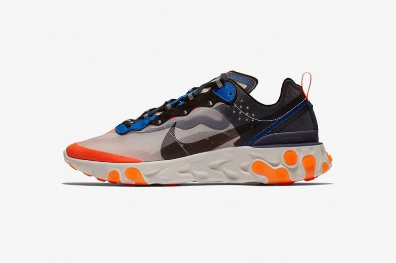 Nike React Element 87 に UNDERCOVER コラボを彷彿とさせる新色2型がスタンバイ アンダーカバー ナイキ HYPEBEAST ハイプビースト