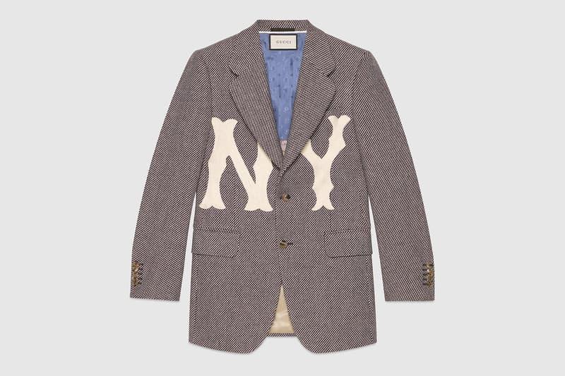 NY Yankees x Gucci Apparel Backpacks Jacket Bomber HYPEBEAST