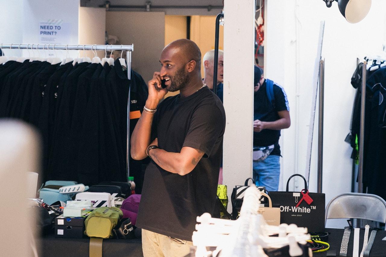 押さえておきたい今週の必読記事 5 選 「atmos con Vol.5」で世界先行販売されるAJ1から「株式会社マリカー」の裁判敗訴、〈Off-White™〉2019年春夏コレクションのバックステージまで今週を総ざらい Virgil Abloh(ヴァージル・アブロー) Air jordan Air Max Nike ナイキ シュグ・ナイト