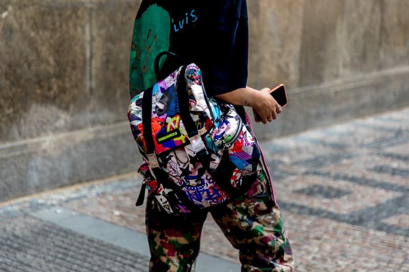 Prague Fashion Week Spring/Summer 2019 Street Style Mercedes-Benz Fashion Week vetements balenciaga  HYPEBEAST Louis vuitton Supreme Heron Preston  Stussy