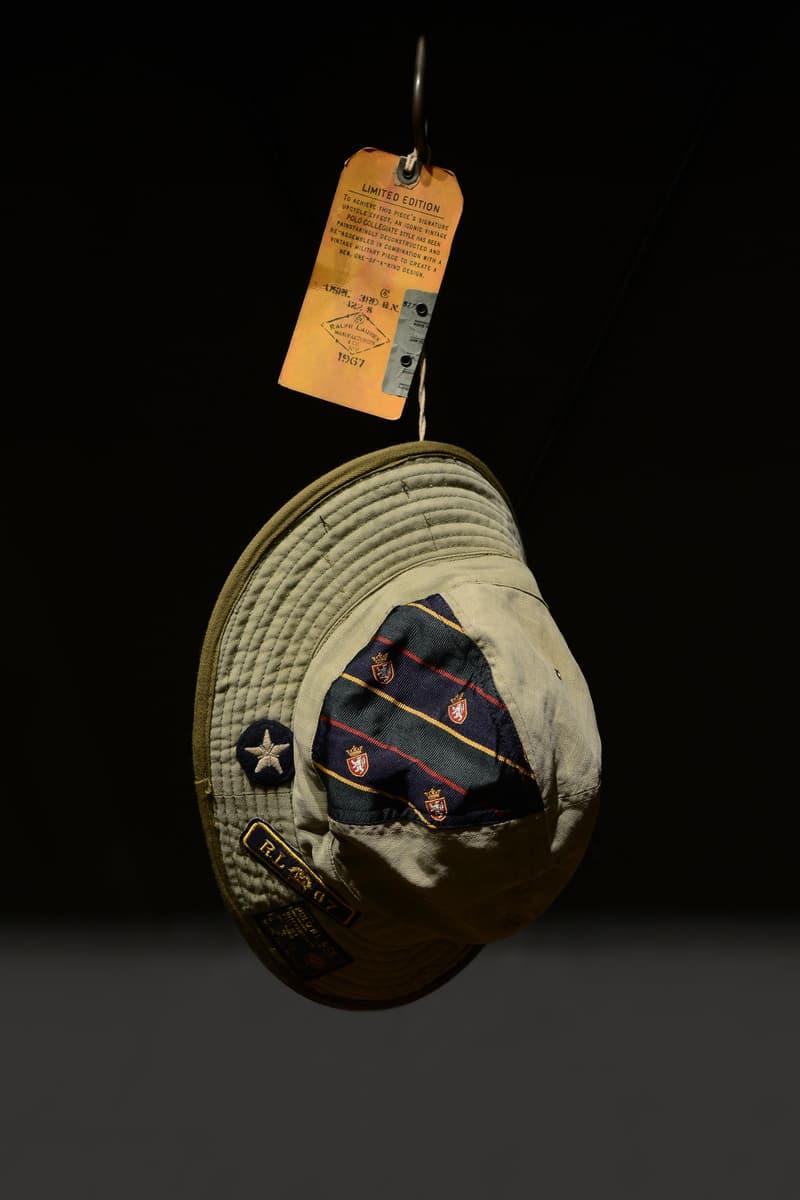 早寿を迎えたアメトラの雄 Ralph Lauren が職人技を駆使した数量限定カプセルをリリース 世界から集めた〈Polo〉の古着とミリタリーアイテムを再構築した唯一無二の逸品が『伊勢丹新宿店』内の旗艦店に到着 アメリカントラッド Ralph Lauren ラルフローレン ヴィンテージアイテム 伊勢丹新宿店 Polo ミリタリーウェア ラガーシャツ M-65 HYPEBEAST ハイプビースト